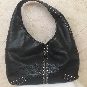 Michael Kors Black Leather Stud Bag